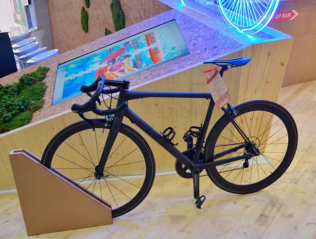 Композитный сверхлегкий гоночный велосипед
