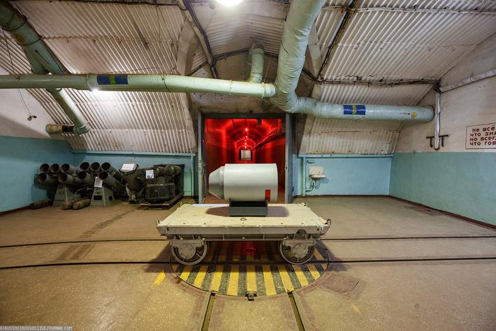 подземная база для подводных лодок в балаклаве