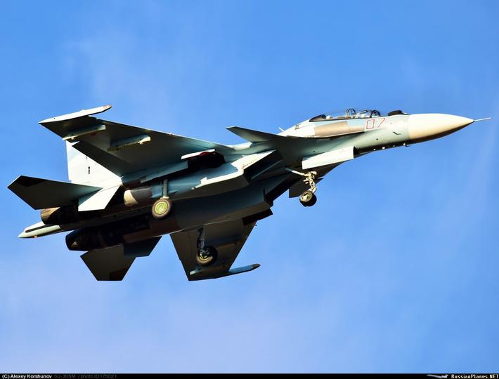 Тип: Сухой Су-30СМ Бортовой: 07 тип Иркут - Иркутское АПО (ru)Y GM AOPA | Иркутск-2 (ИАПО) (UIIR) Россия Алексей Коршунов (c) 29 сентября 2015
