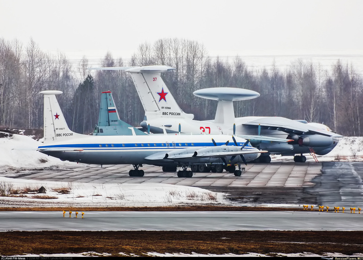 Ил-22, Ан-12 и А-50