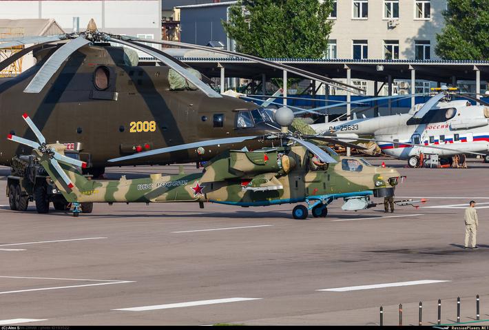 новейшая модернизированная модификация боевого вертолёта Ми-28НМ фото russianplanes.net