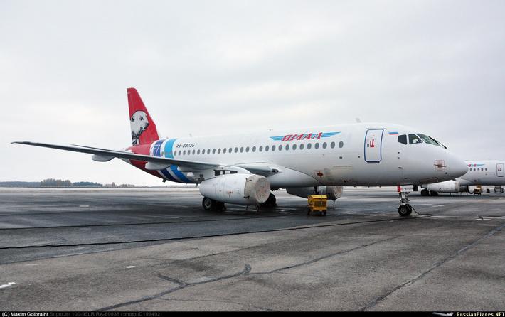 Сухой SuperJet 100-95LR Ямал
