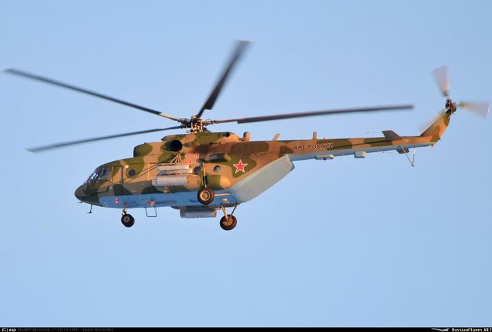 Новые вертолеты Ми-8МТВ-5 ВВС России