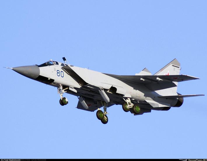 Очередная пара МиГ-31БМ передана ВВС России
