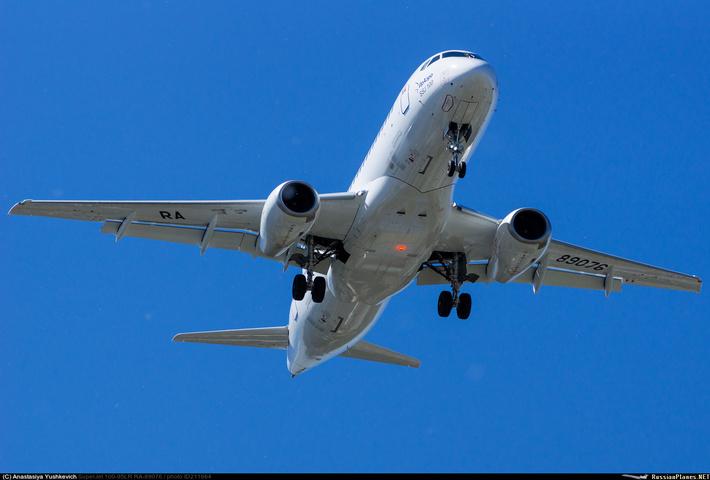 Авиакомпания «ИрАэро» получила очередной самолет Sukhoi Superjet-100