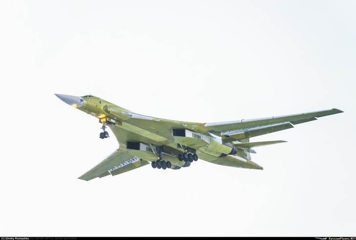 Ту-160 «Иван Ярыгин» приступил к испытательным полетам после модернизации