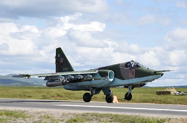 Штурмовик Су-25 «Грач». Фото: Юрий Смитюк / ТАСС