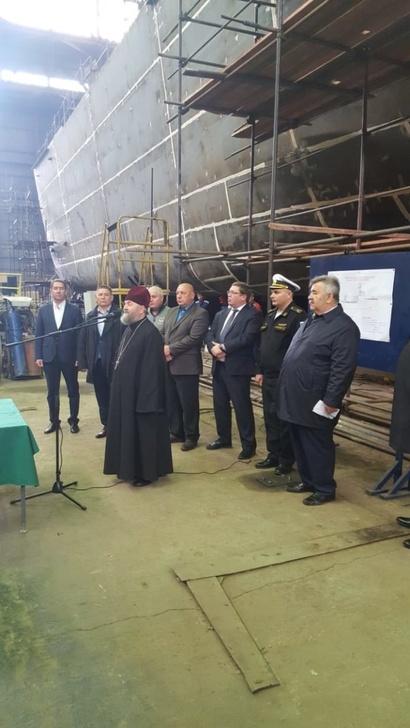 Строительство ледокола «Евпатий Коловрат» проекта 21180М