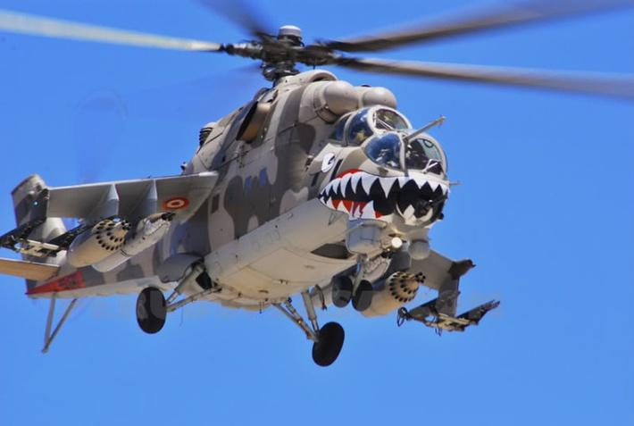 """Летающий """"Крокодил"""" ВВС Перу"""