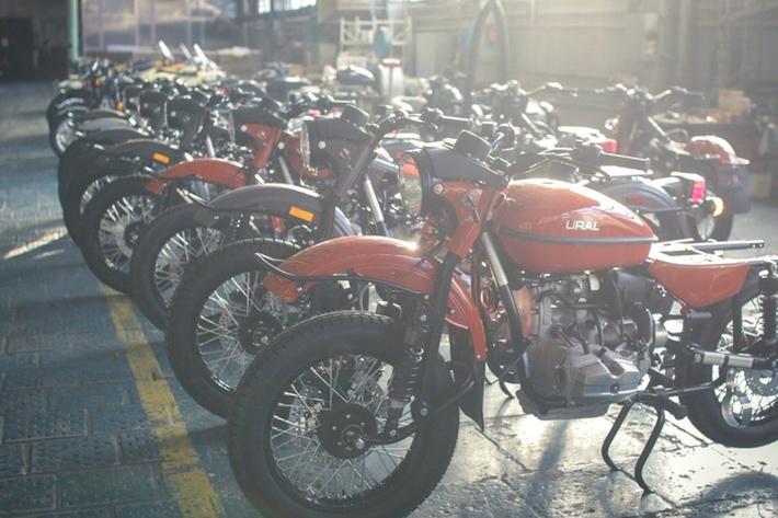Для россиян такой мотоцикл обойдется в сумму около 500 000 рублей. история, мотоцикл, производство, россия, урал, фотография