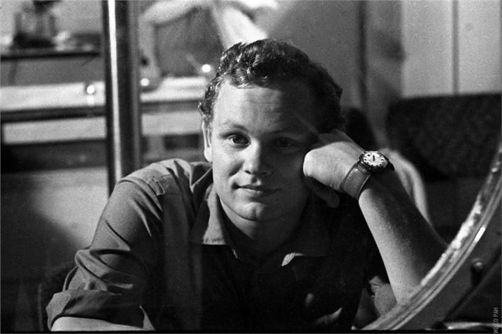 Николай Петров, фото 1973 года.