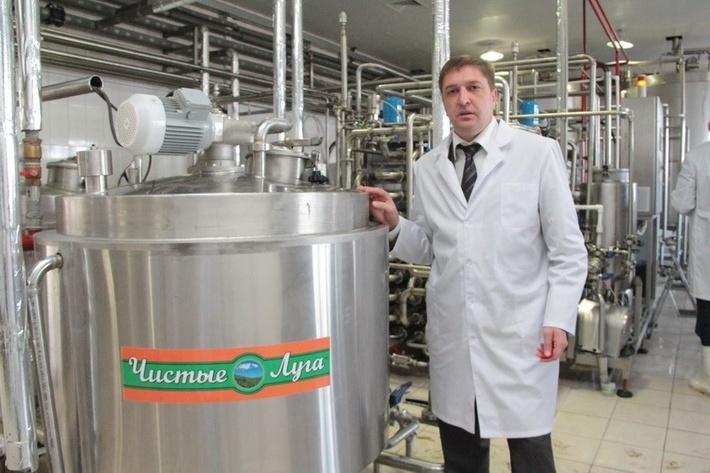 руководитель холдинга «Чистые луга» Андрей Козиков
