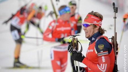 Россиянин Тимофей Лапшин занял 31-е место в гонке преследования на первом этапе Кубка мира в Эстерсунде / Фото: © biathlonrus.com