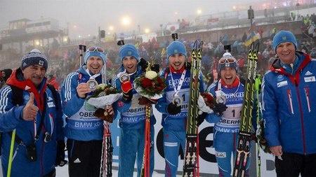 Мужская сборная России / Фото: © biathlonrus.com