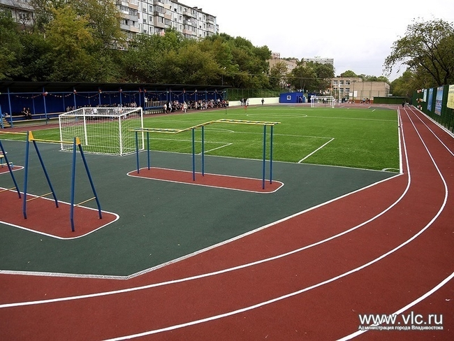 школьные стадионы