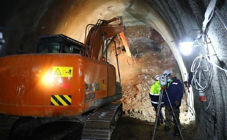В Уфе завершилась проходка тоннеля для Восточного выезда из города.