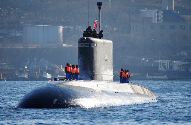 Все дизельные подводные лодки ВМФ России.Фотообзор
