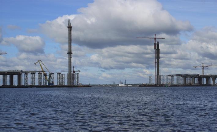 вантовый мост петербург: