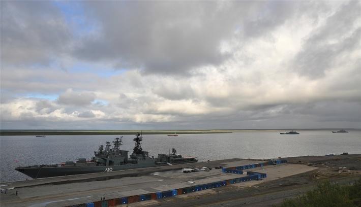 Корабли Северного флота пришли в Дудинку