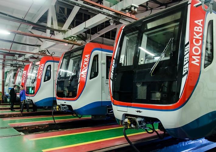 Московский метрополитен приступил к эксплуатации составов «Москва»