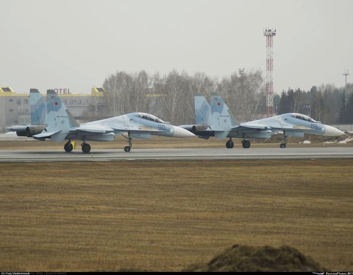 Новые Су-30М2 для ВВС России