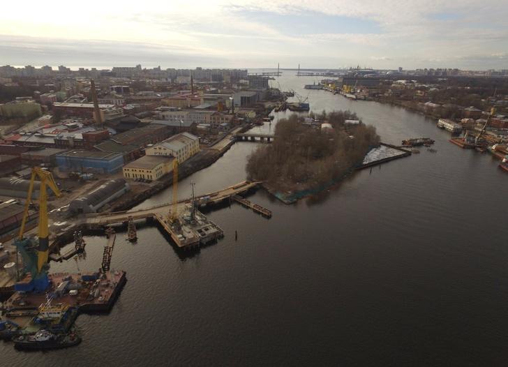Мост Бетанкура и набережная Макарова - было и стало