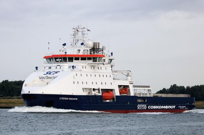 «Совкомфлот» получил многофункциональное судно ледового класса «Степан Макаров»