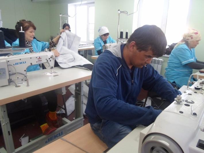 Цех фирмы Колибри в селе Билалово