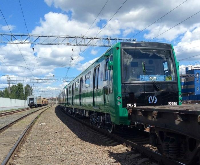 Новые вагоны метро для Москвы и Санкт-Петербурга
