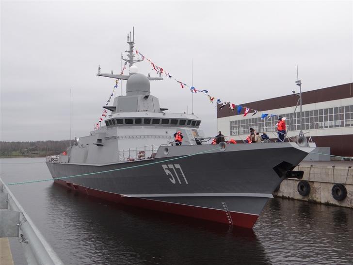 Строительство кораблей и вспомогательных судов для ВМФ России