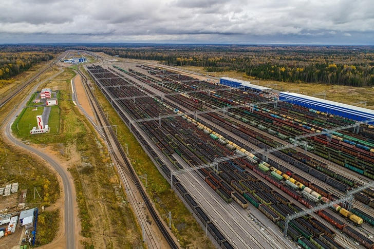 Усть-Лужский железнодорожный узел