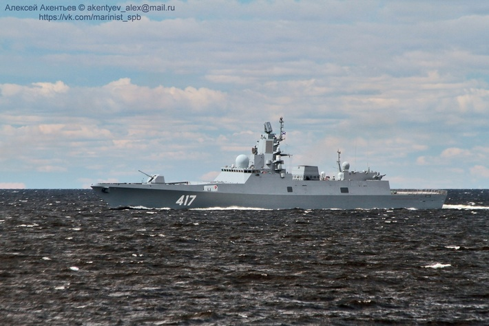 Адмирал горшков фрегат фото