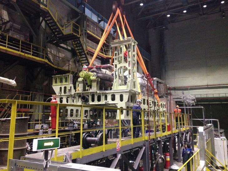 Балтийский завод получил первую паротурбинную установку для ледокола «Сибирь»
