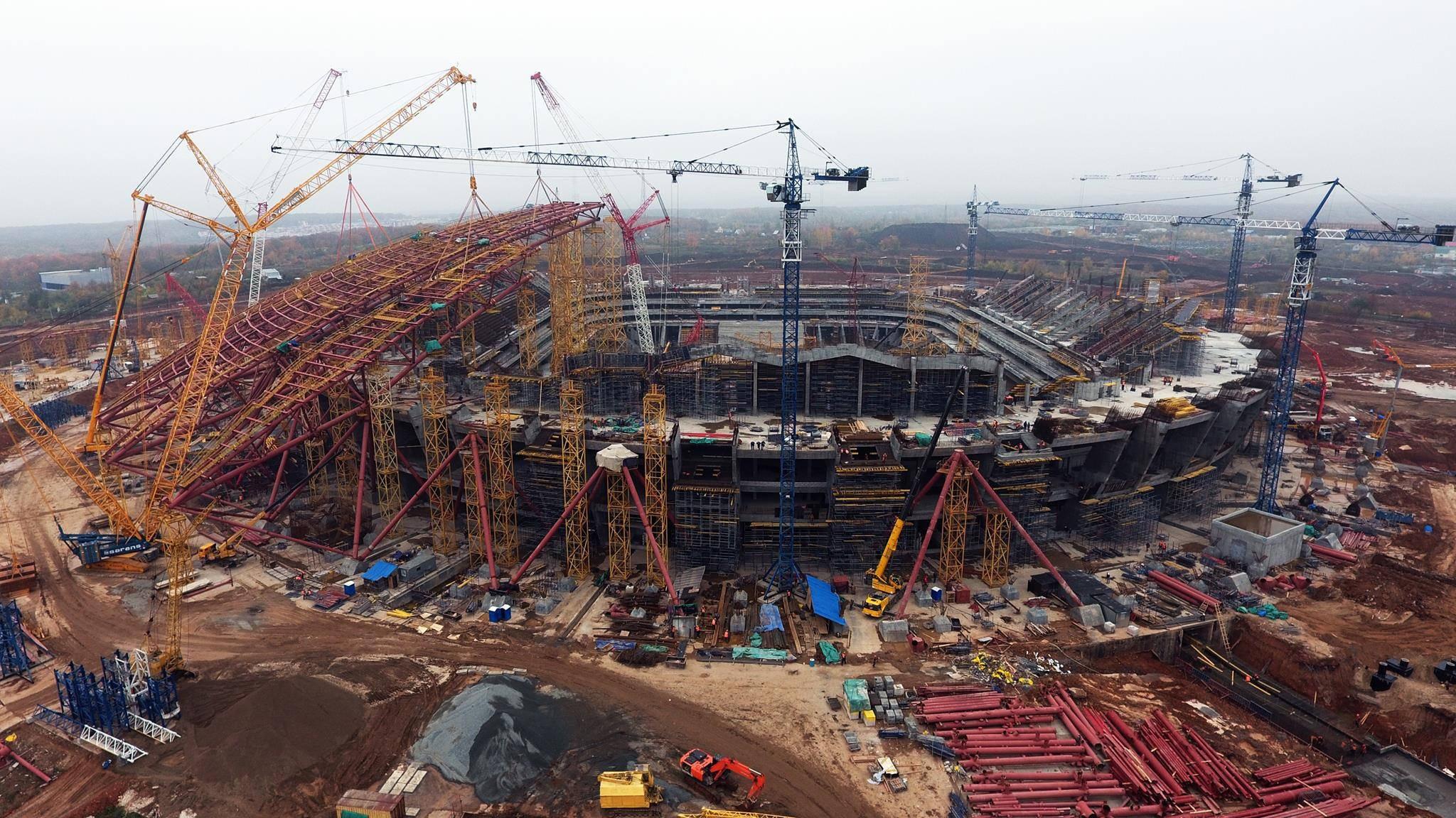 Когда будет построен стадион в самаре к чм 2018