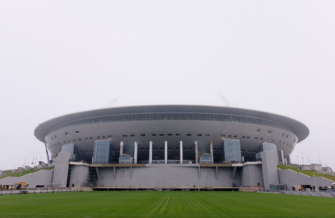 крестовский стадиона фото трибун
