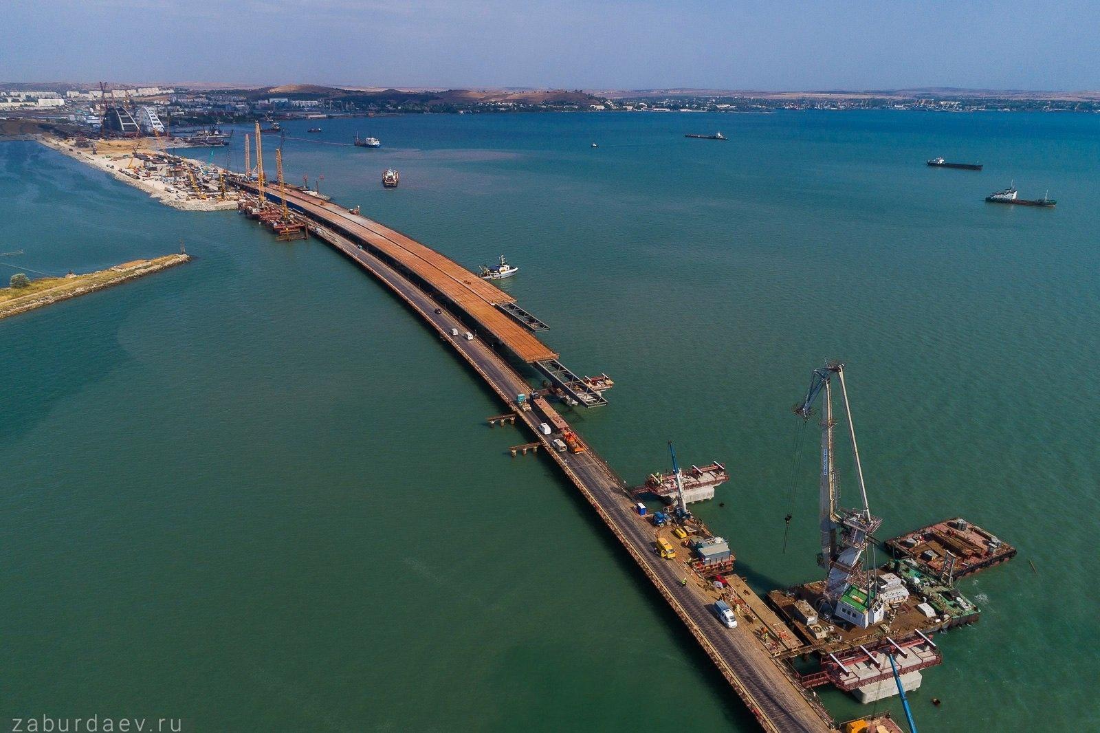 крымский мост фото последние новости воды