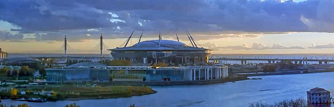 крестовский фото трибун стадиона