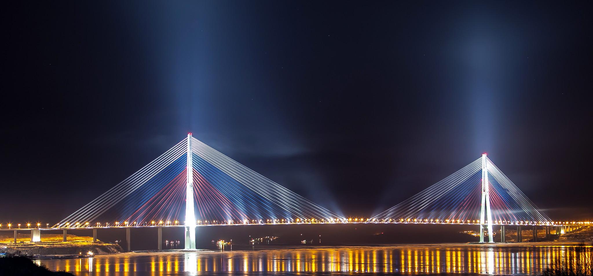 Вантового моста в санкт петербурге