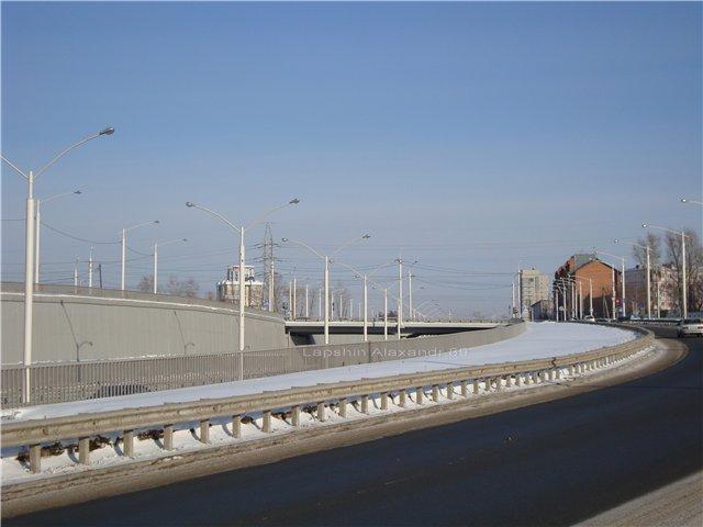 картинка улицы с перекрёстком