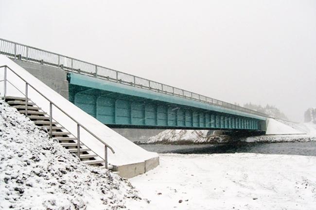 2012.09 Мост через реку Салма (трасса М-18) - 100м