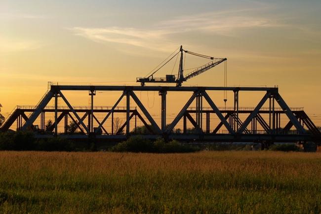 2012.10 Железнодорожный мост через реку Нерль (Боголюбово) - 156м