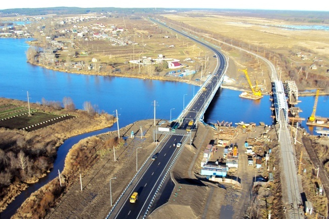 2010.10 Моста через реку Шуя (село Шуя, Карелия) - 175м