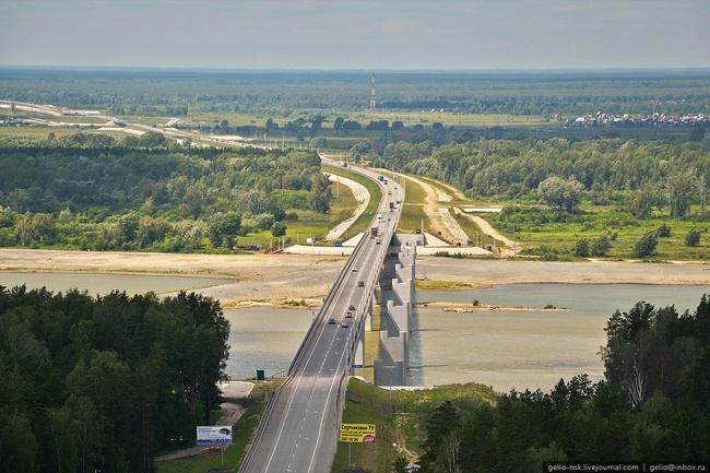 2008.10.25 Мост через реку Обь (Северный обход Новосибирска) - 925м
