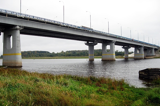 2007.09.07 Моста через реку Волхов (2-ой переезд, Объезд Великого Новгорода) - 380м