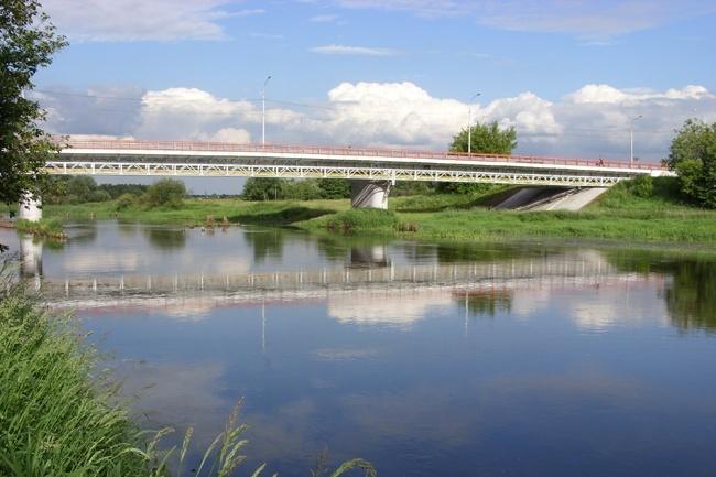 2006.12.05 Мост через реку Клязьма (Павловский Посад) - 180м