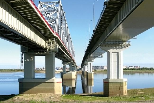 2008.09.27 Мост через протоку Юганская Обь (2ой переезд, Нефтеюганск) - 870м