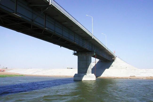 2007.10.03 Мост через реку Кигач (трасса А-340) - 370м