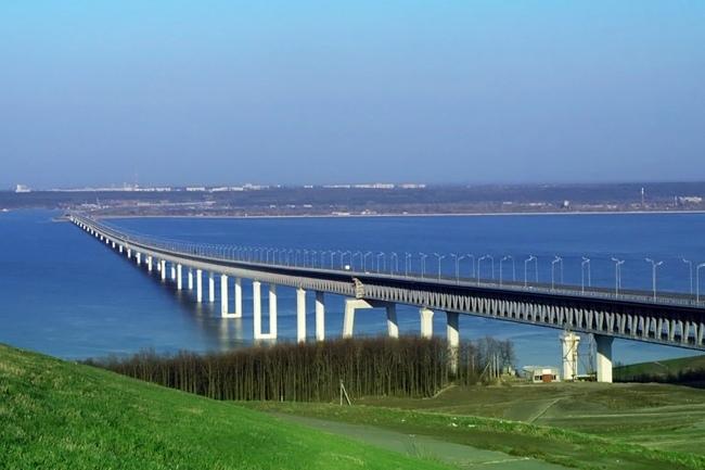 2009.11.24 Президентский мост (через реку Волга, Ульяновск) - 5825м
