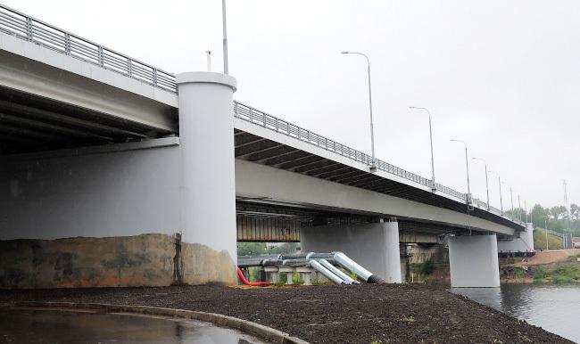 2012.09.28 Мигаловский мост (через реку Волга, 2-ой переезд, Тверь) - 300м