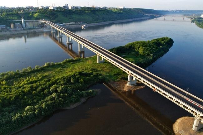 2009.11 Нижегородский метромост (через реку Ока) - 1234-1344м